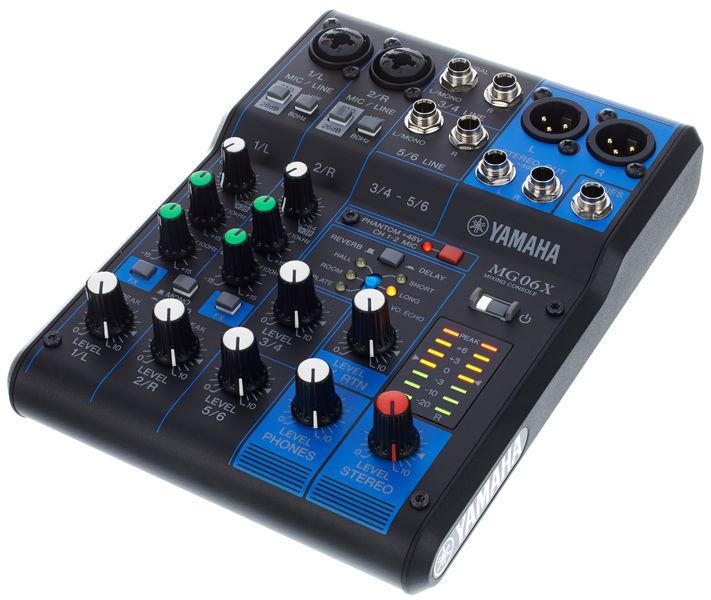 Mixer Karaoke Yamaha MG06X