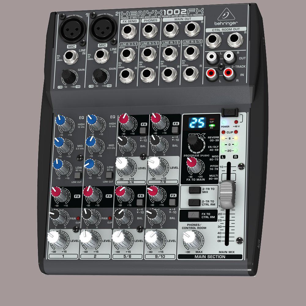 mixer karaoke analog