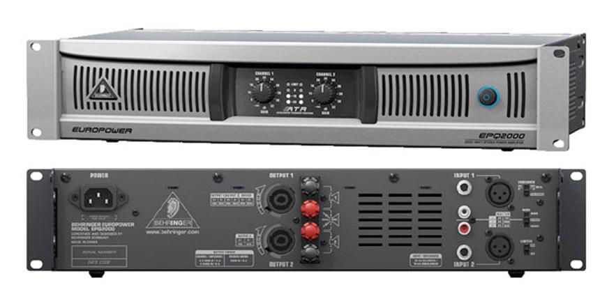 Cục đẩy công suất Behringer Europower EPQ2000