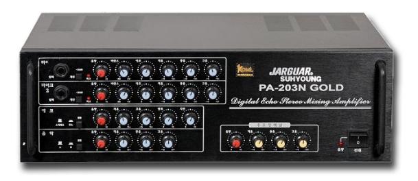 Amply Karaoke Jarguar Suhyoung PA-203N Gold