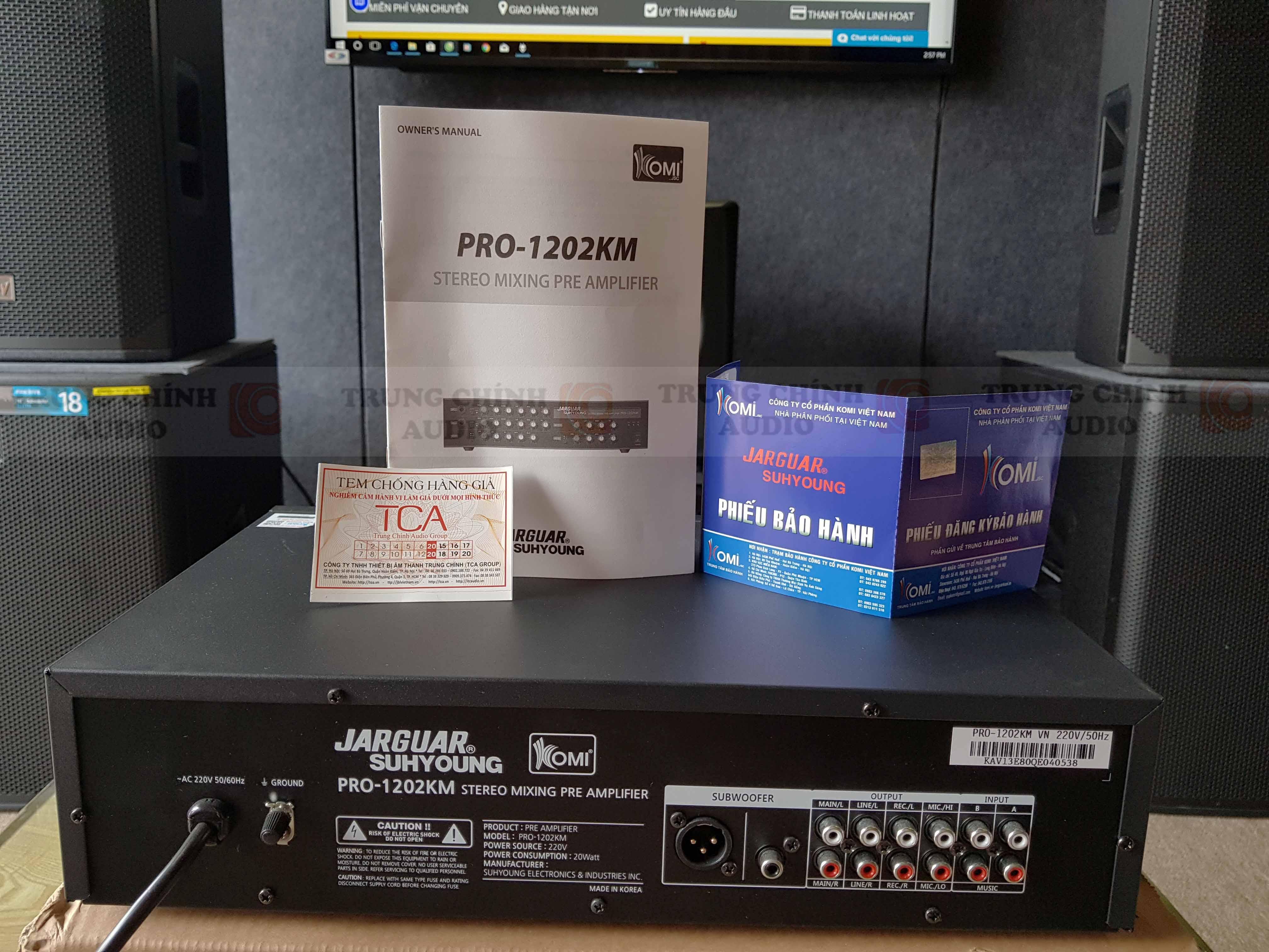 Jarguar Suhyoung PRO-1202KM giá rẻ nhất